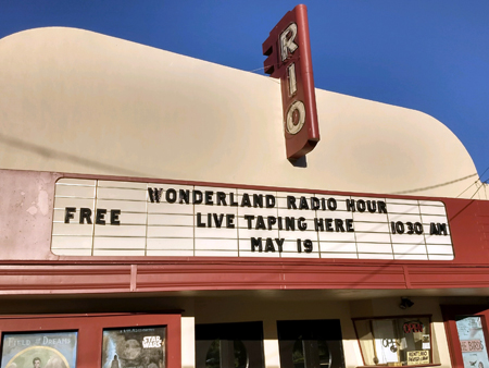 Wonderland  Radio  Hourat the Rio Theater